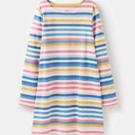 Joules Riveria Shift Dress Multistripe