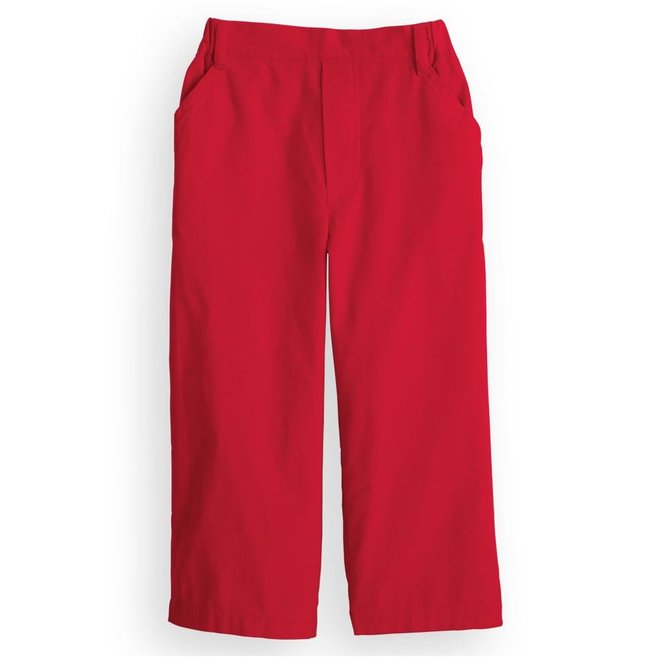 Bella Bliss Red Corduroy Pant