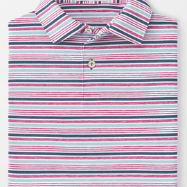 Peter Millar Agora Stripe Youth Stretch Polo