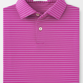 Peter Millar PR Stripe Youth Stretch Polo