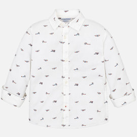 Mayoral Longsleeve Shirt Airplane