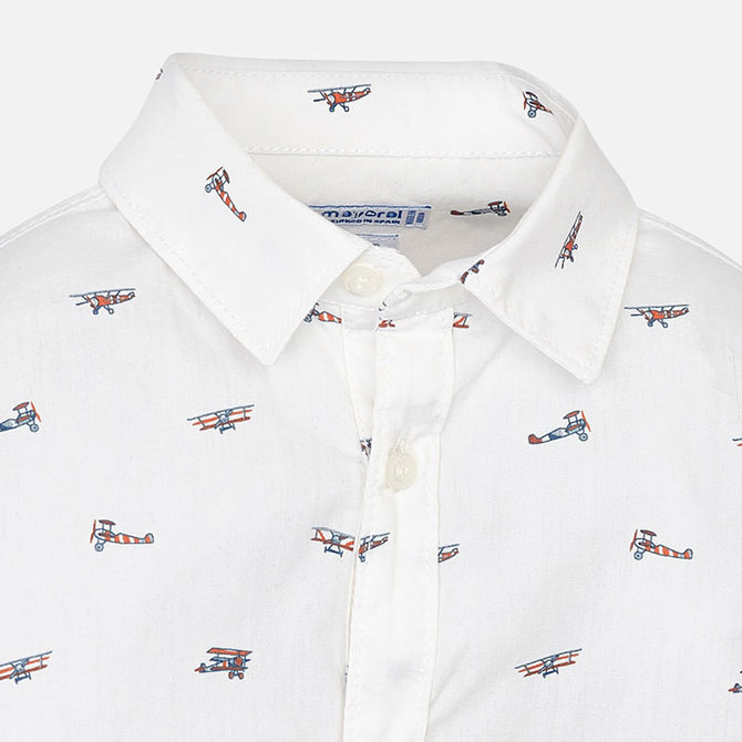Mayoral Longsleeve Shirt Airplane
