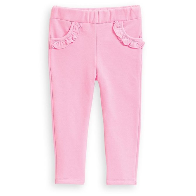 Bella Bliss Lambsey Legging Pink French Terry