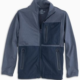 Southern Tide Performance Sea Foam Performance Full Zip