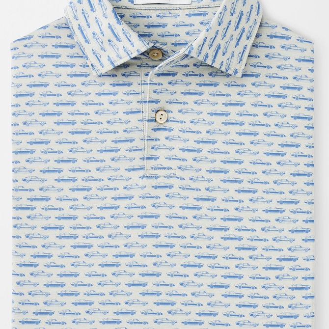 Peter Millar Youth Ted Performance Polo Cars