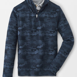 Peter Millar Peter Millar Youth Perth Printed Camo Quarter-Zip