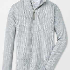 Peter Millar Peter Millar Youth Perth Printed Birdie Quarter-Zip