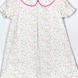 Peggy Green Short Sleeve Day Dress- Sprinkle