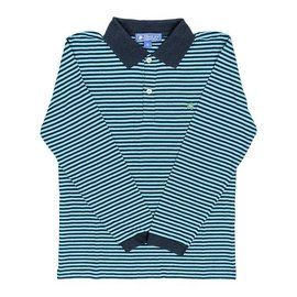 The Bailey Boys J. Bailey long sleeve striped polo