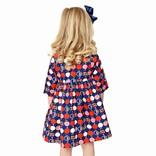 Smiling Button Honeycrisp Winnie Dress