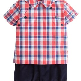 Little English Walker Short Set Frierson Plaid