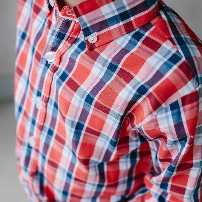 Little English Button Down Shirt Frierson Plaid