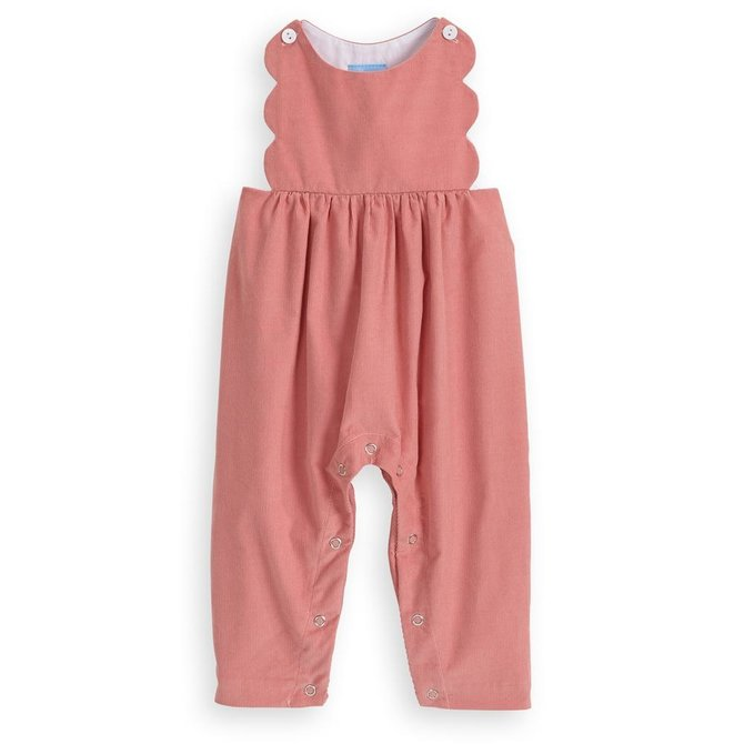 Bella Bliss Scalloped Overall