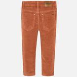 Mayoral Basic Slim Fit Cord Pants Burnt Orange