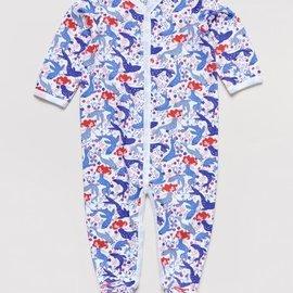Roberta Roller Rabbit Infant Selkie Lilac Footie Pajama