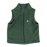 The Bailey Boys J. Bailey Olive Fleece Vest