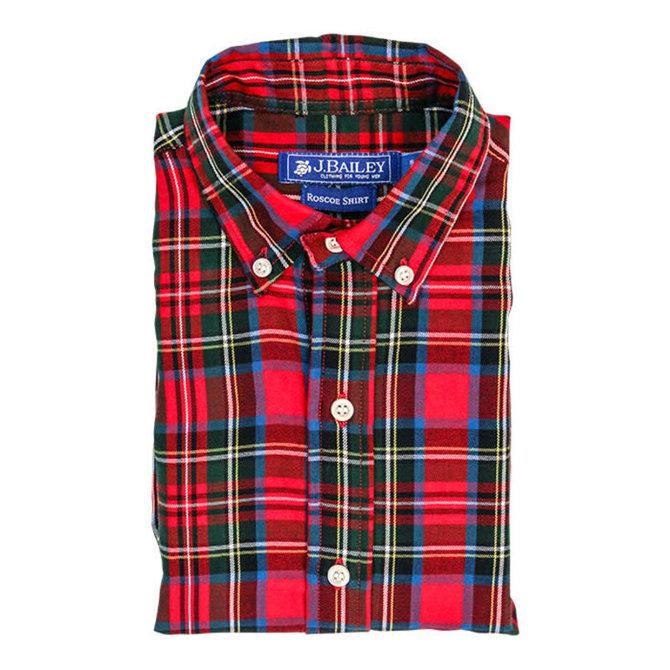 The Bailey Boys J. Bailey Button Down Shirt Wales Plaid