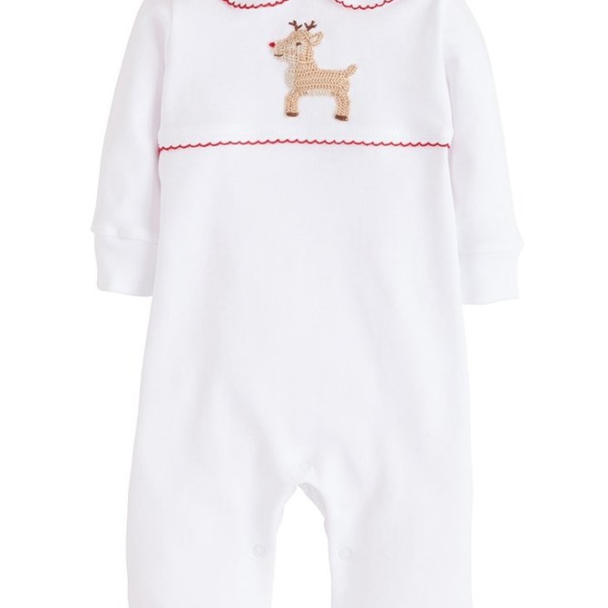 Little English Reindeer Playsuit