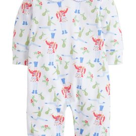 Little English Holly Jolly Playsuit - Drummer