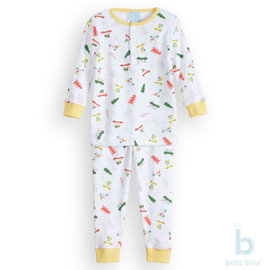 Bella Bliss Holiday Pierce Pima Jammies
