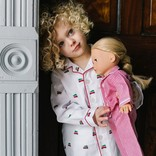 Petite Plume Holiday Journey Pajama Set