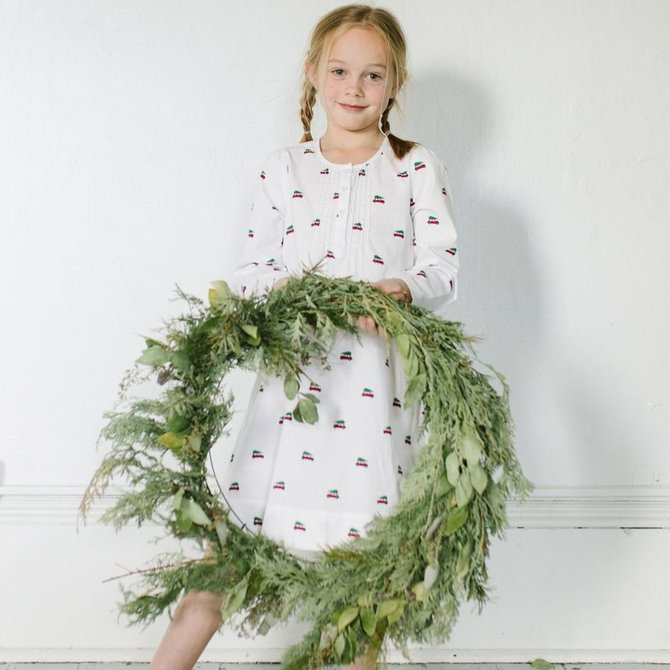 Petite Plume Holiday Journey Beatrice Nightgown
