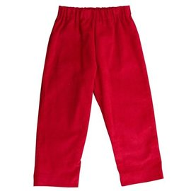 Busy Bees Luke Pull on Pant- Cranberry