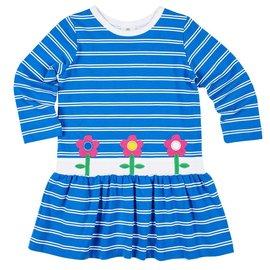 Florence Eiseman Flower Stripe Dress