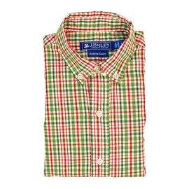 The Bailey Boys J Bailey Button Down Shirt Mistletoe Plaid