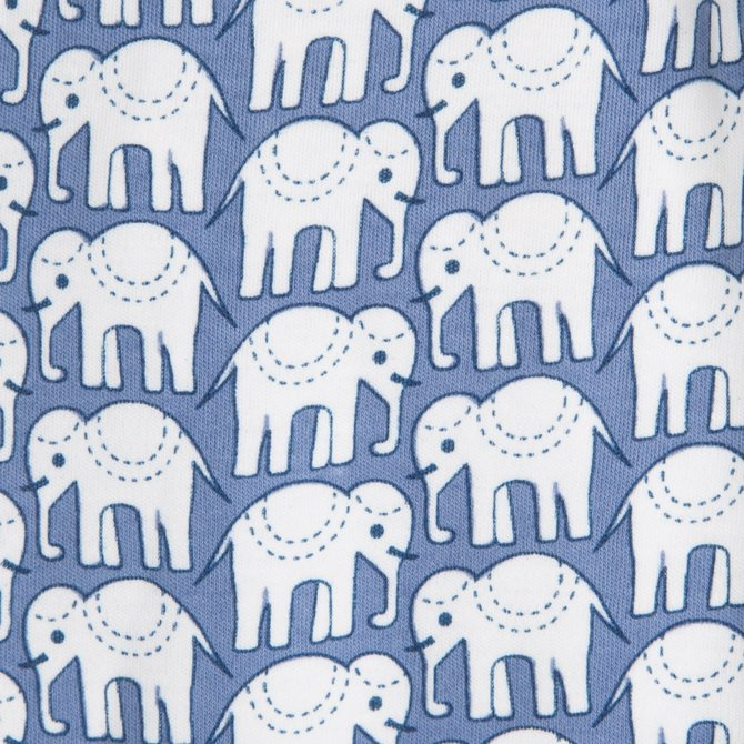 Roberta Roller Rabbit Infant Elephant Footie Pajama