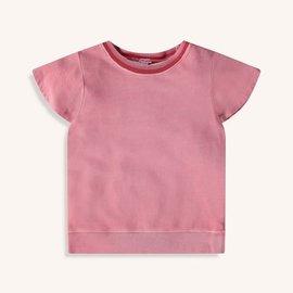 Splendid Flutter Sleeve Top Barefoot Pink