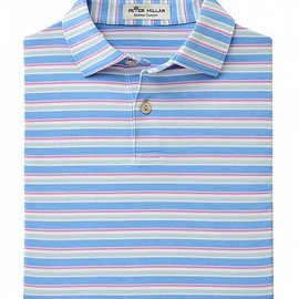 Peter Millar Youth Center Stripe Polo