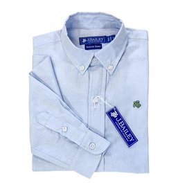 The Bailey Boys J Bailey Button Down Roscoe Shirt Oxford Blue