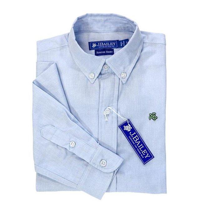 J. Bailey J Bailey Button Down Roscoe Shirt Oxford Blue