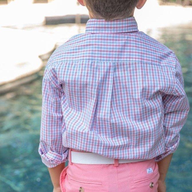 The Bailey Boys J Bailey Button Down Shirt Bubblegum