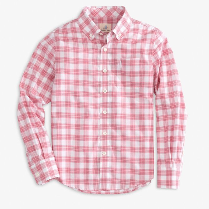 Johnnie-O Landon Strawberry Button Down Shirt