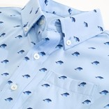 Southern Tide Dolphin Print Sportshirt
