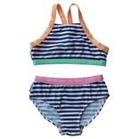 Mini Sandcrabs Girls Sport Racer Back Bikini
