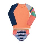 Mini Sandcrabs Girls Sport Long Sleeve Set