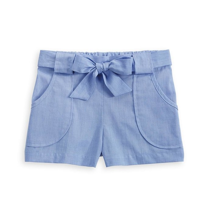 Bella Bliss Nicollette Short Blue Chambray