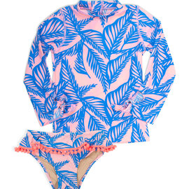 Shade Critters Rashguard Set Blue Palm Reader