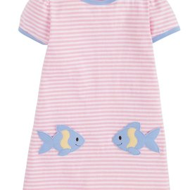 Little English Fishies T-Shirt Dress