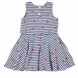 Florence Eiseman Strawberry Print Dress