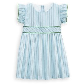 Bella Bliss Prescott Dress Green Raya Stripe