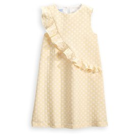 Bella Bliss Twyla Dress Yellow Jackie Dot