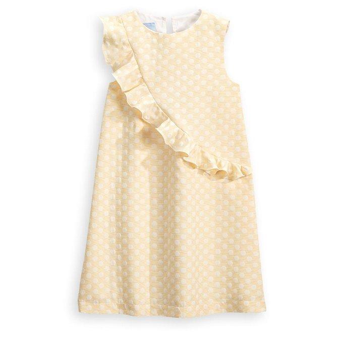 Bella Bliss Twyla Dress Yellow Jackie Dot