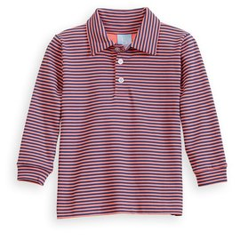 Bella Bliss Stripe Pima Polo Tee