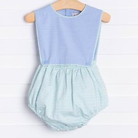Sophie & Lucas Spring Stripe Boy Overall