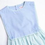 Sophie & Lucas Spring Stripe Boy Overall