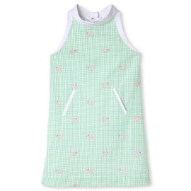 CPC Childrenswear Apple Green Alligators Dress